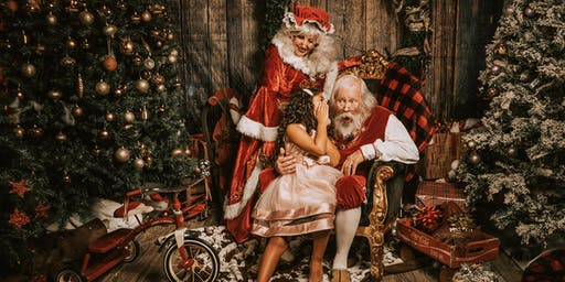 Castaldo Studio Photo Session- with SANTA