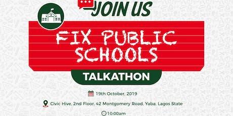 Fix Public Schools Talkathon tickets