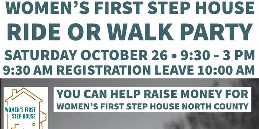 Women's First Step House Ride or Walk