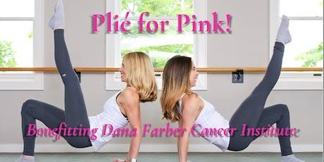 Plié for Pink Forme Barre Fitness Chestnut Hill tickets