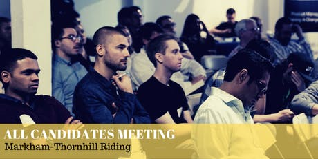 All Candidates Meeting - Markham-Thornhill Riding tickets