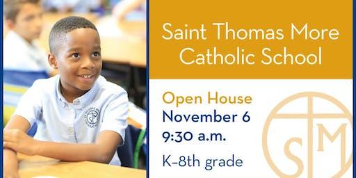 Saint Thomas More Catholic School Fall Open House