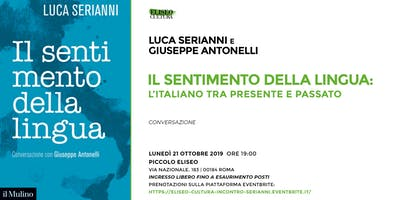 Eliseo Cultura: incontro con Luca Serianni