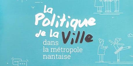 rencontre inter-acteurs culture et politique de la ville #Nantes #4 billets