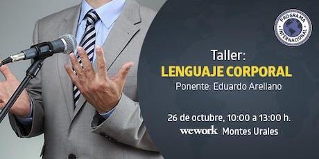 "Programas Internacionales UTEL te invita al Taller de ""Lenguaje Corporal"" boletos"