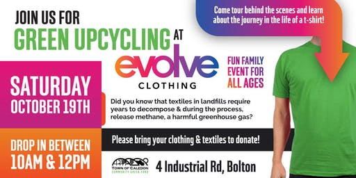 Green Upcycling at Evolve Clothing