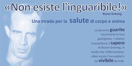 Conferenza Informativa  - Bruno Groening - Trani biglietti