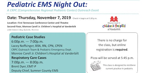Pediatric EMS Night Out: A Class for Healthcare Professionals