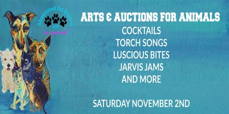 ARTS & AUCTIONS FOR ANIMALS tickets