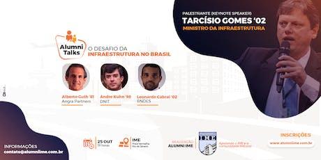 IME Alumni Talks | Infraestrutura (Edição Especial) ingressos