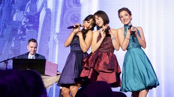 """Broadway Princess Party"" with Laura Osnes, Susan Egan and Courtney Reed"