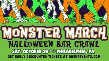 MONSTER MARCH Philadelphia - Halloween Bar Crawl