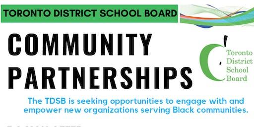 TDSB Community Partnerships