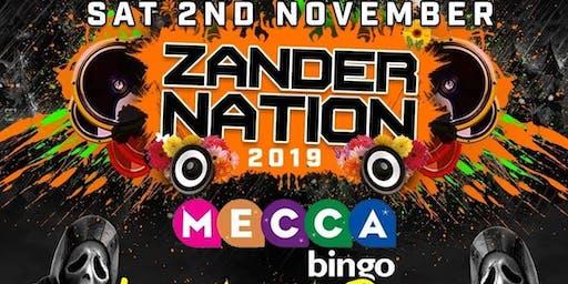 Zander Nation & Paul Gannon Halloween Bash @ Mecca Drumchapel