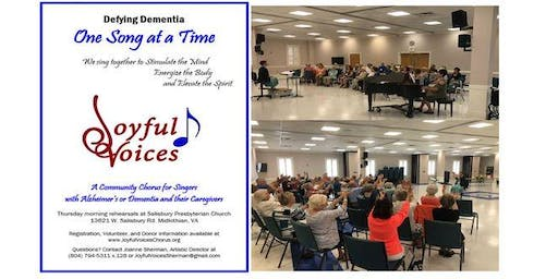 Joyful Voices Fall Concert Singers Site