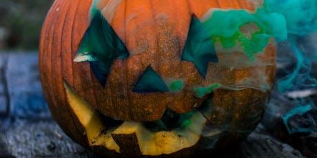 Pumpkin Guts Slime Childrens Workshop tickets