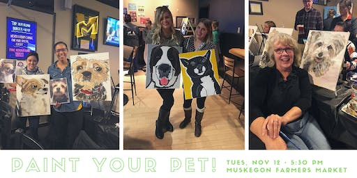 Paint Your Pet! Nov 12