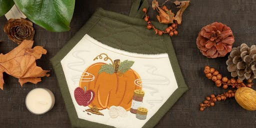Anita Goodesign: Thanksgiving Pot Holders