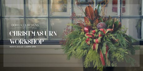 Christmas Urn Workshop tickets