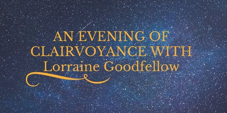 EVENING OF CLAIRVOYANCE AT West Maldon Community centre tickets