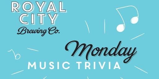 Monday Music Trivia
