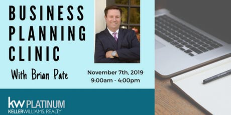 Business Planning Clinic: Brian Pate tickets