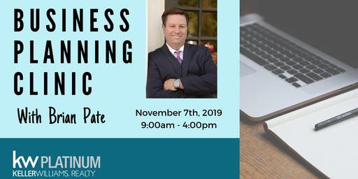Business Planning Clinic: Brian Pate