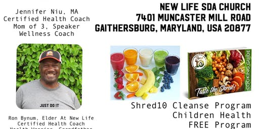 HEALTH MADE SIMPLE: SHRED10 DETOX FREE EVENT