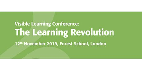 Visible Learning Conference - The Learning Revolution tickets