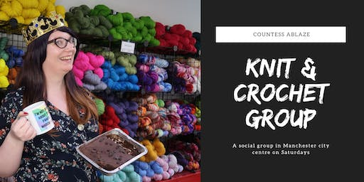 Knit and Crochet Group at Countess Ablaze