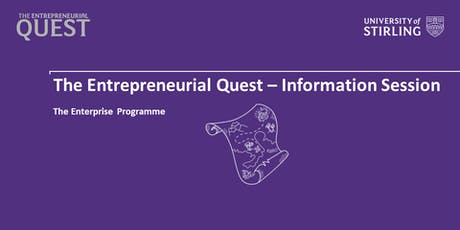 Entrepreneurial Quest - Information Session tickets