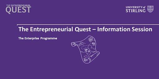 Entrepreneurial Quest - Information Session