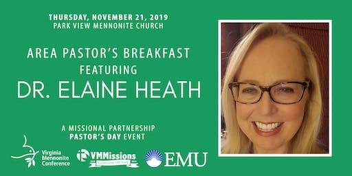Area Pastor's Breakfast with Dr. Elaine Heath