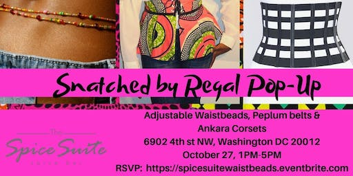 Waist Beads & Ankara Pop Up at the Spice Suite