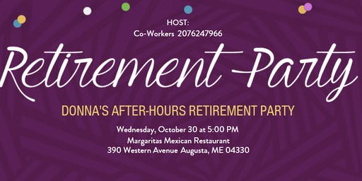 Donna's After-Hours Retirement Party
