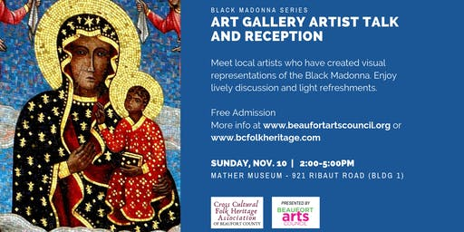The Black Madonna Series:  Art Gallery Artist Talk and Reception