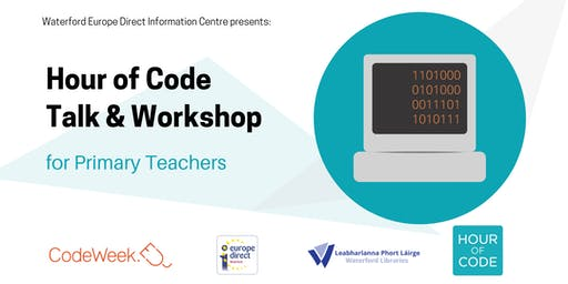 Hour of Code – FREE training for Primary School Teachers