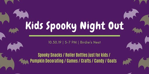 Kids Spooky Night Out