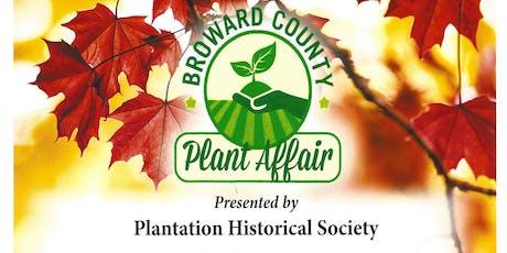 Broward County Plant Affair  tickets