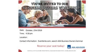 Professional Business Owner's Workshop