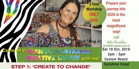 Create To Change ~ Creative Safari to the new You tickets