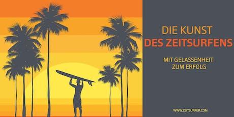 Die Kunst des Zeitsurfens - Frankfurt tickets