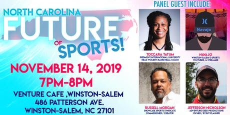 """The North Carolina """"Future of Sports"""" Fireside Chat tickets"""