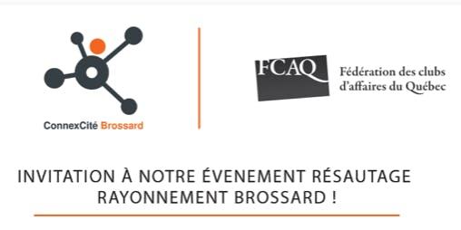 5 à 7 RÉSEAUTAGE RAYONNEMENT BROSSARD -  ConnexCité Brossard