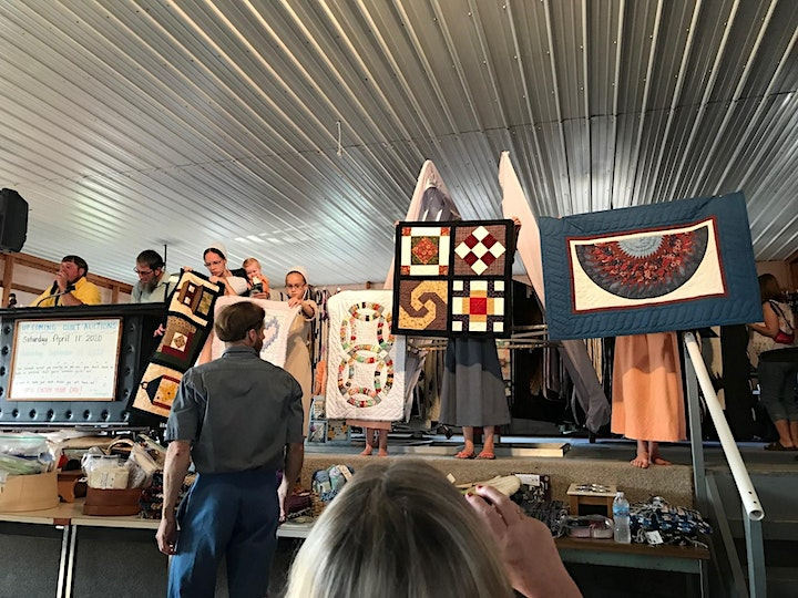 Honeyville Amish Quilt Auction image