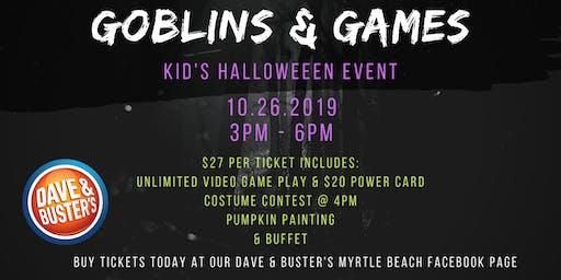 Goblins & Games D&B Myrtle Beach 2019