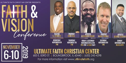 2019 Faith And Vision Conference