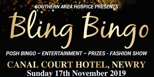 'Bling Bingo' Posh Bingo 2019 - Entertainment - Prizes - Fashion Show