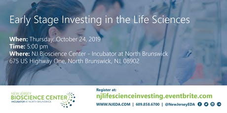 Early Stage Investing in the Life Sciences tickets