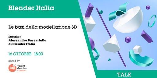 Le basi della modellazione 3D